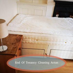 end of tenancy acton